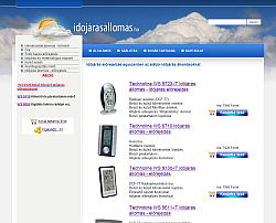 időjárás állomás weboldal